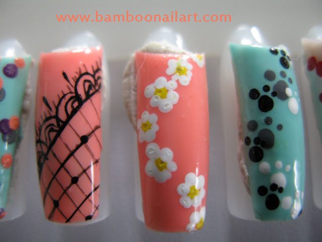 Mes Nail Art début de printemps : simple et facile (3/6)