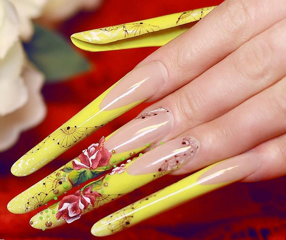 nail art ongle long