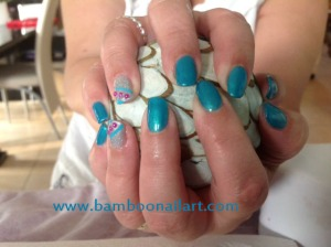VP turquoise NA strass rose 1