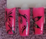 DISPLAY NITA GARCIA rose fluo