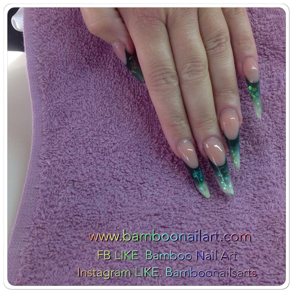 Nail Art sur ma POSE D ONGLES de Formation Bibulle (1/4)