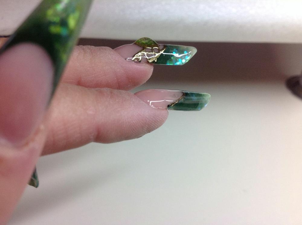 Nail Art sur ma POSE D ONGLES de Formation Bibulle (4/4)