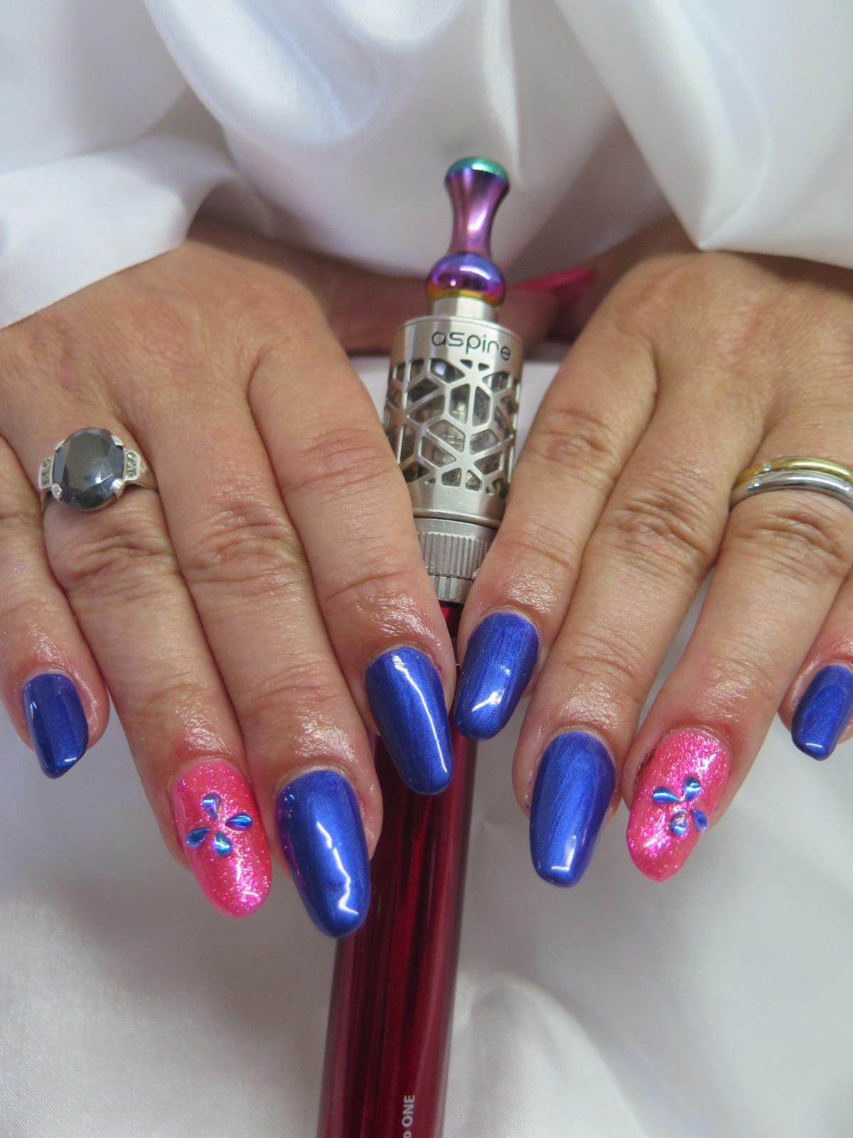Mod le ongles en gel fashion designs - Modele nail art ...
